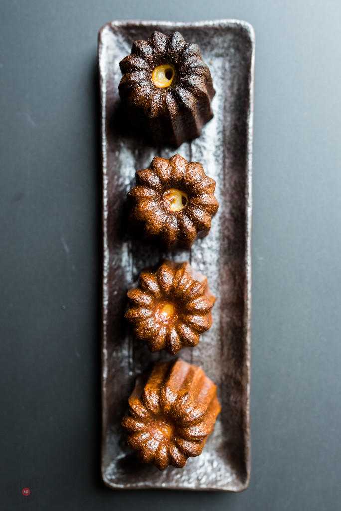 Caneles at La Patisserie Chouquette