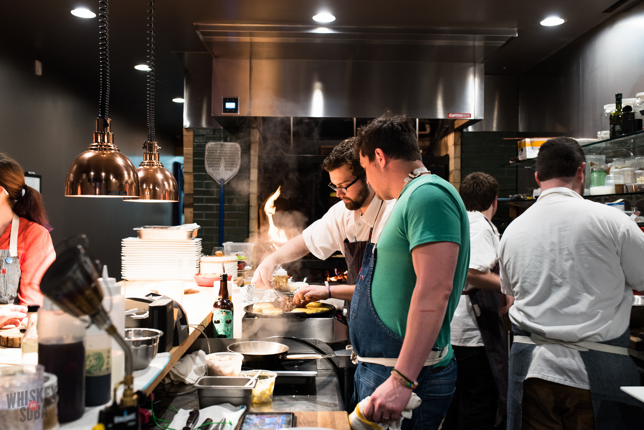 Cooking at Publico