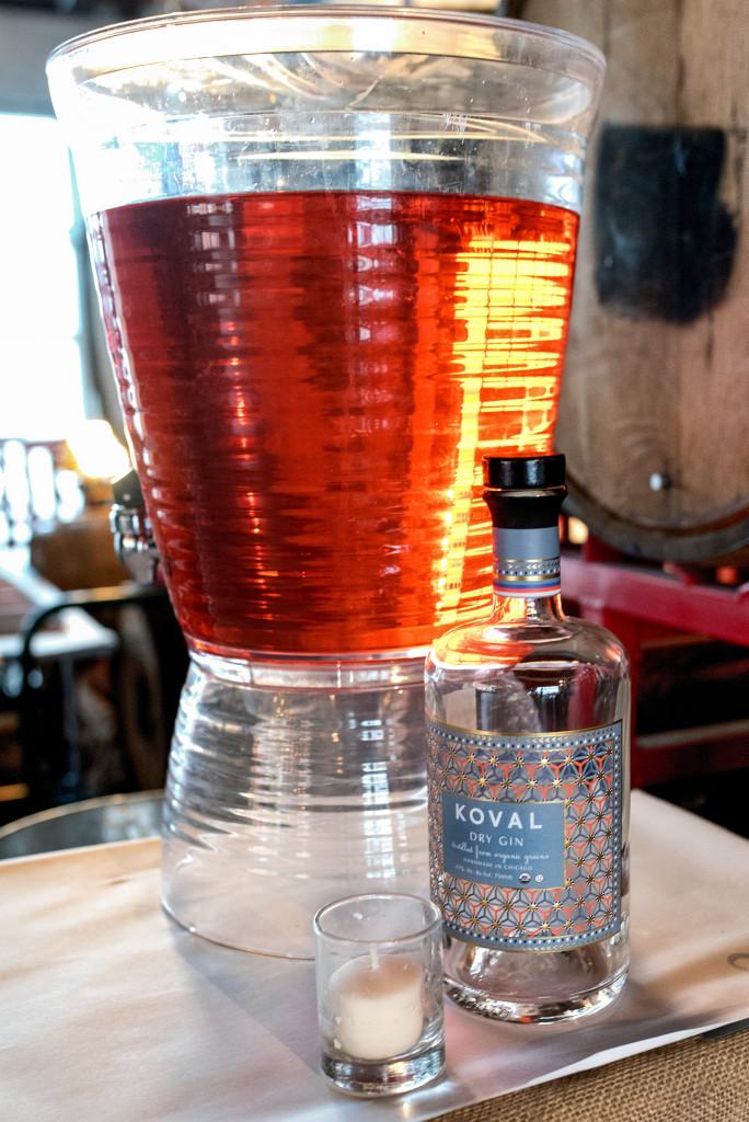 Koval Cocktail at Russ Bodner's Dinner Lab
