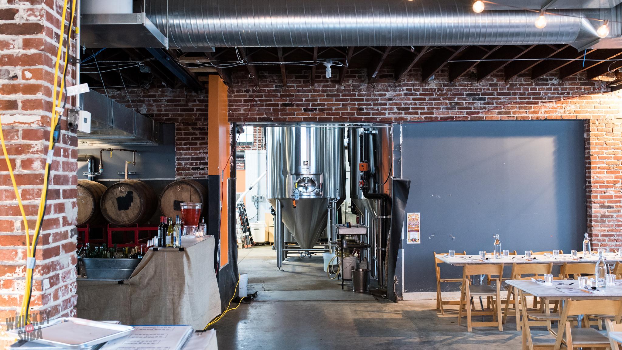 Brewery at Russ Bodner's Dinner Lab