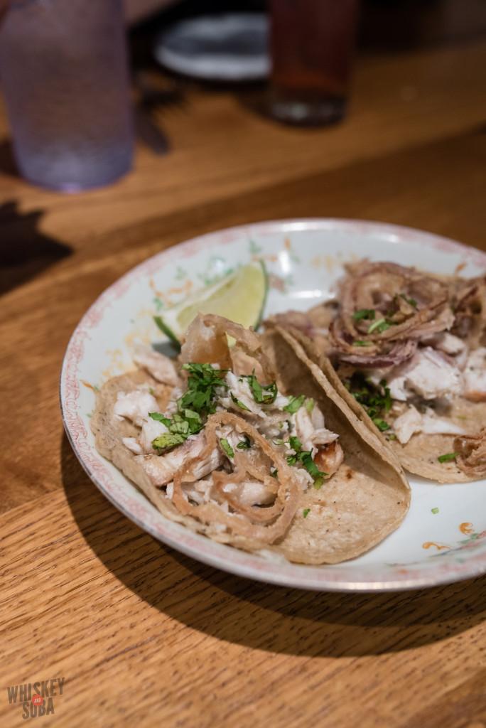 Fish Tacos at Publico