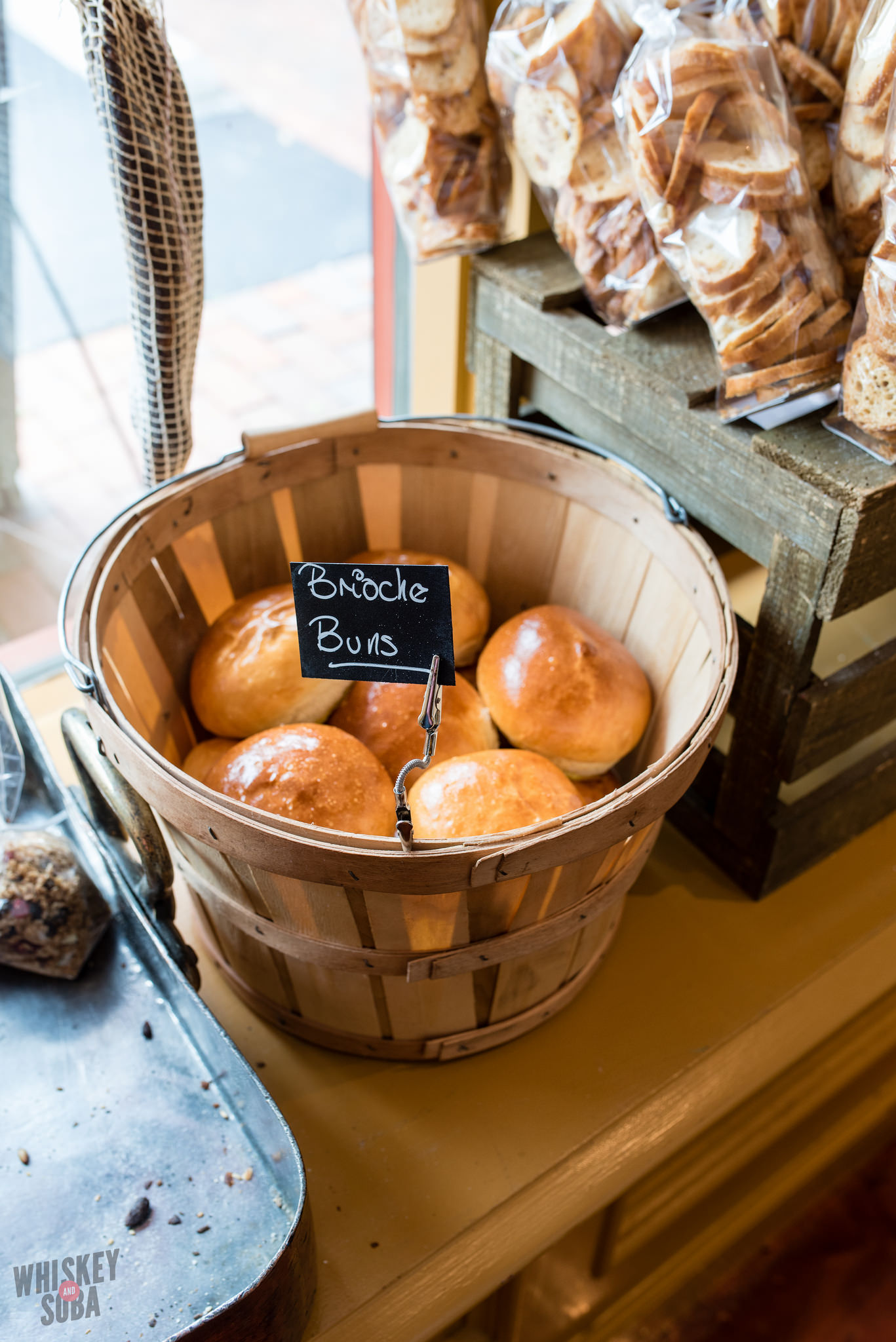 Brioche Buns at Truffles Butchery