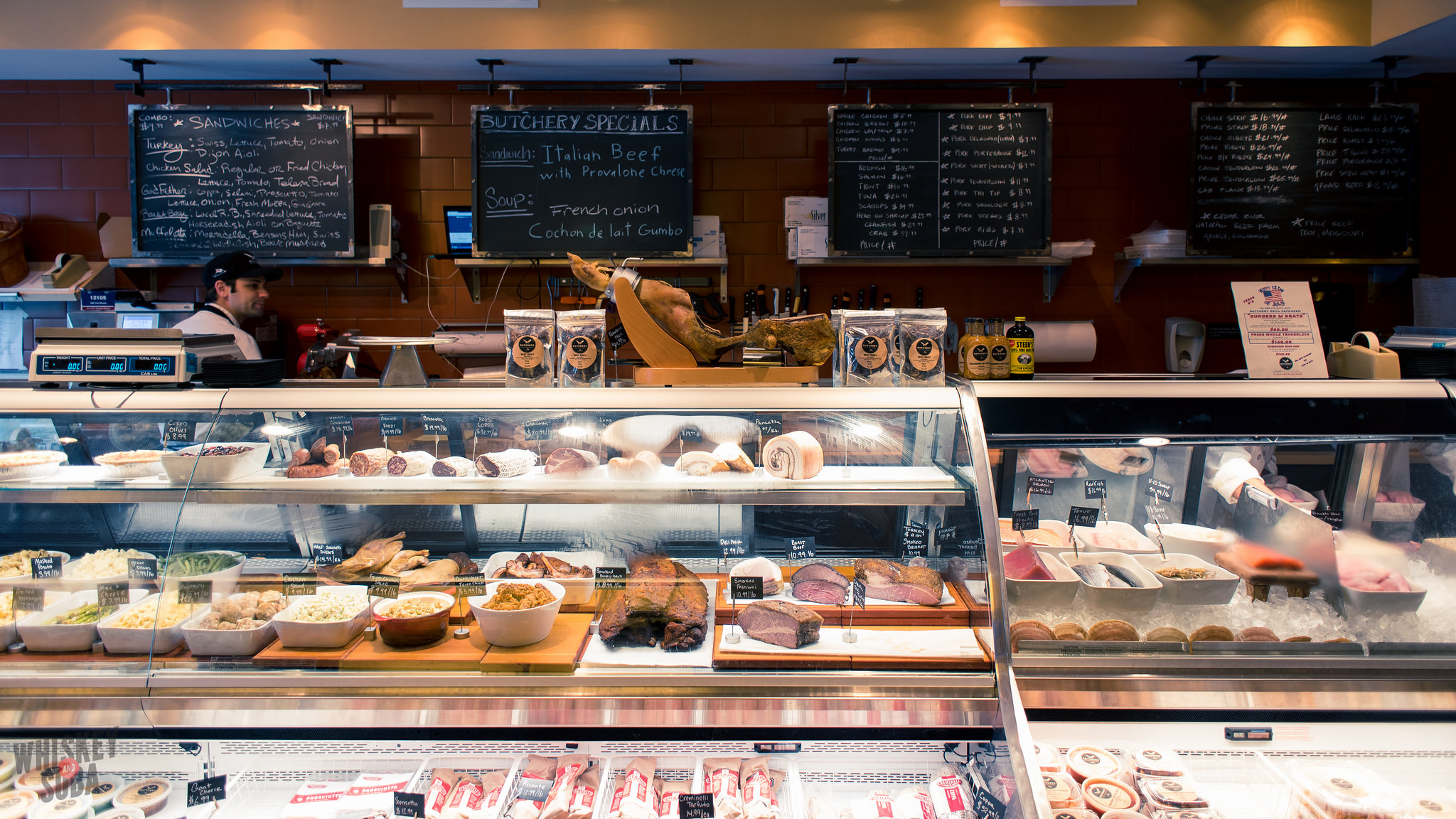 Meat Case at Truffles Butchery