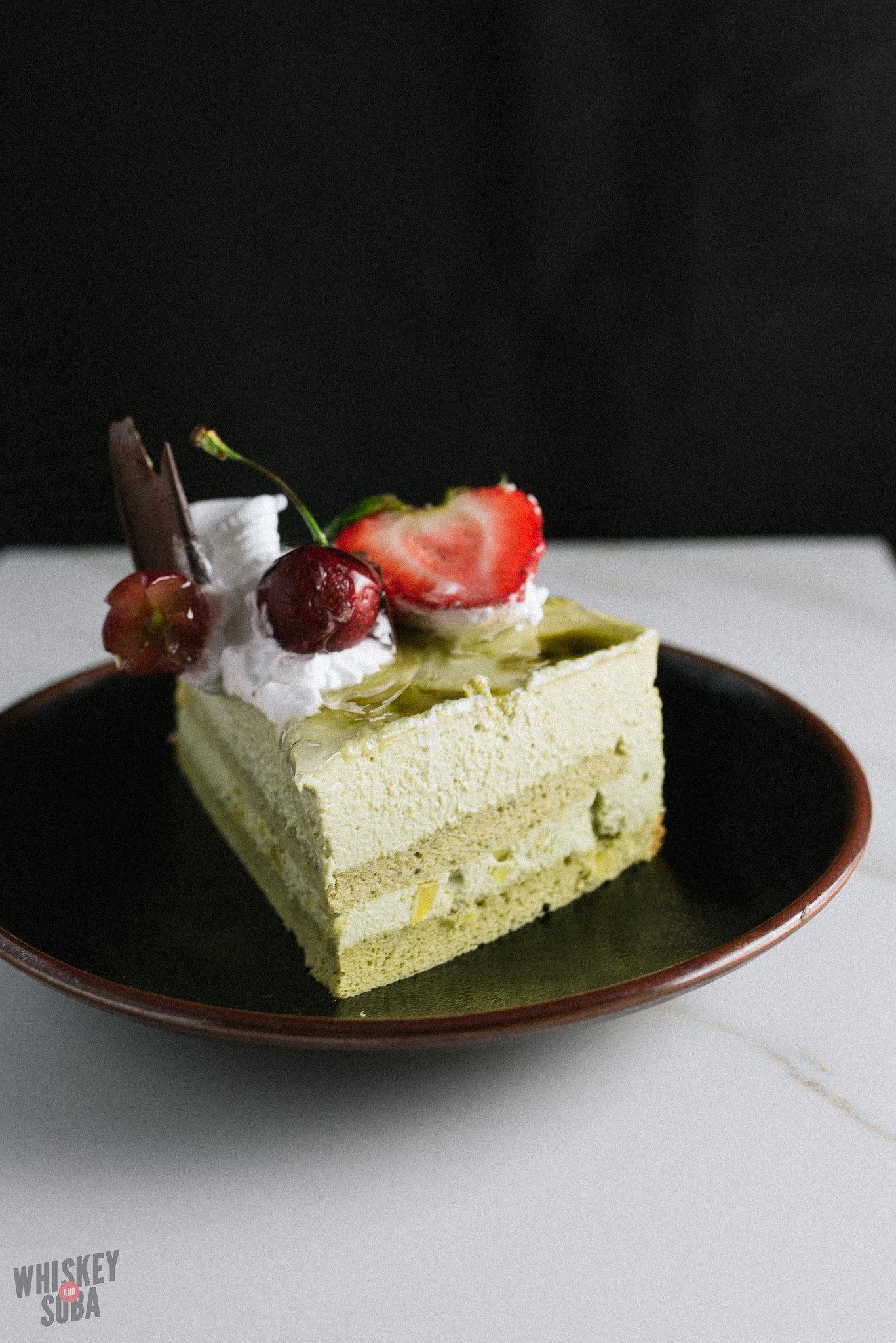 Kim's Bakery Sliced Green Tea Cake St. Louis