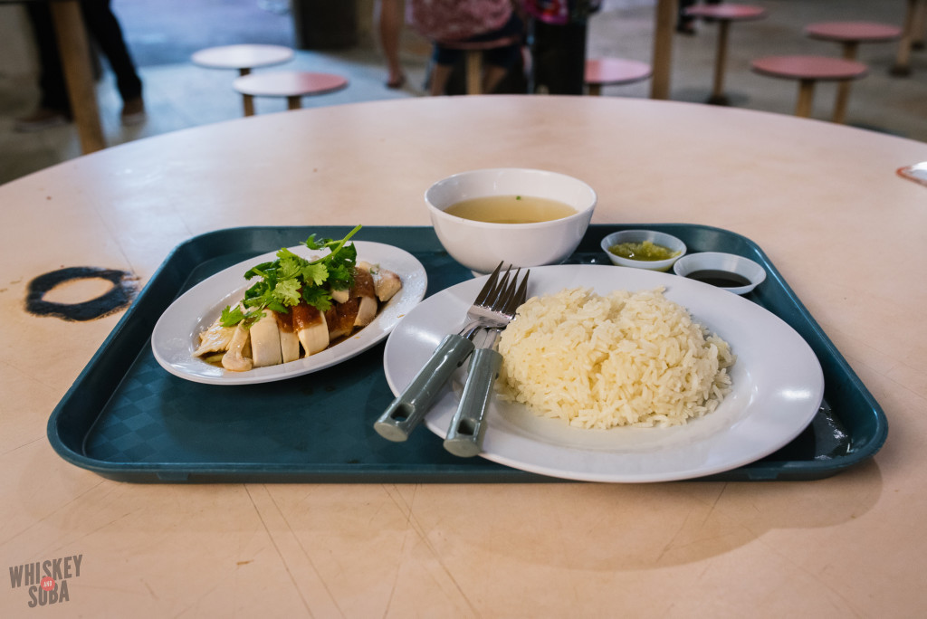 Redhill Food Centre Singapore Roasted Chicken Rice