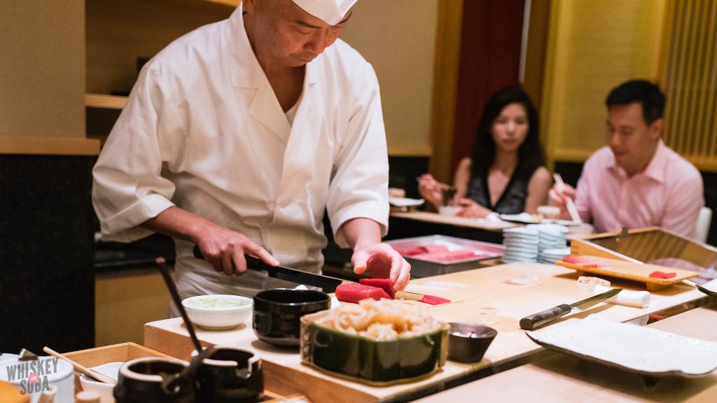 Tuna Slicing at Shinji by Kanesaka
