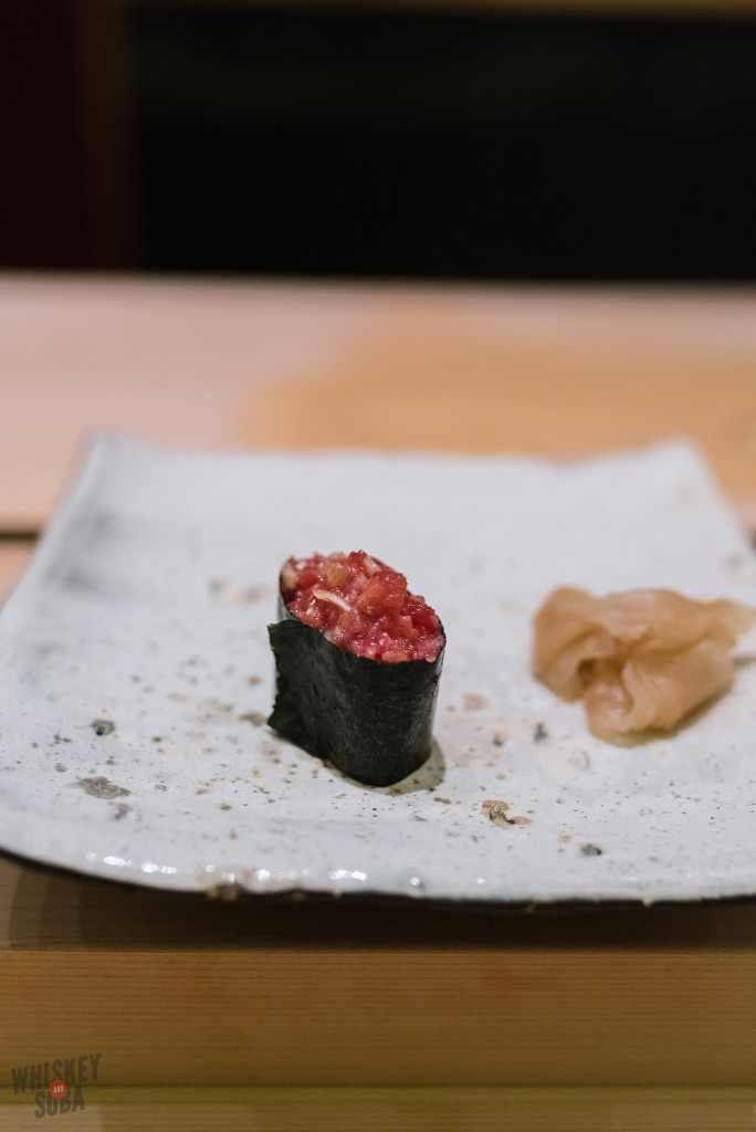 Negitoro Sushi at Shinji by Kanesaka