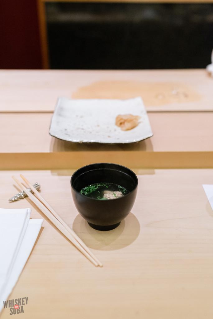 Soup at Shinji by Kanesaka