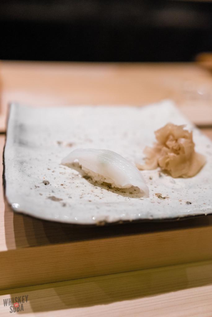 Squid at Shinji by Kanesaka