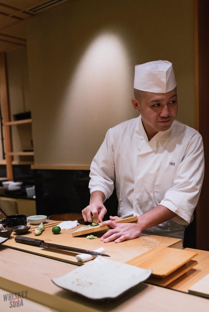 Chef at Shinji by Kanesaka