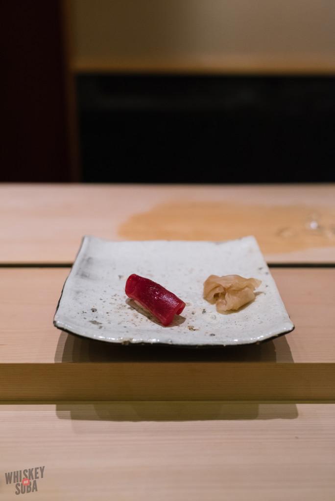 Tuna Sushi at Shinji by Kanesaka