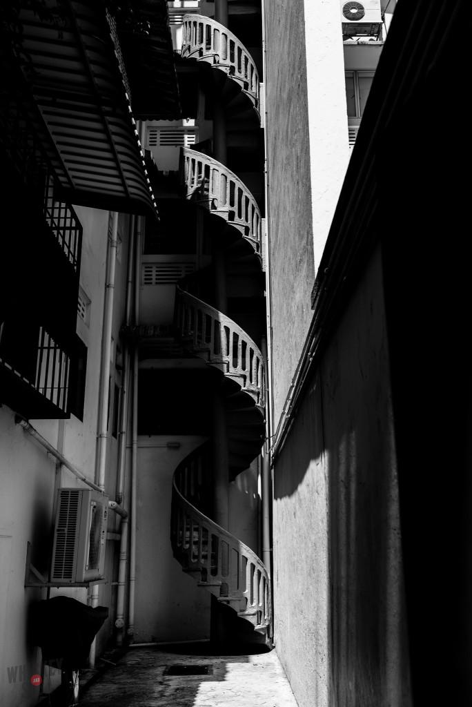 Tiong Bahru Singapore Spiral Staircase