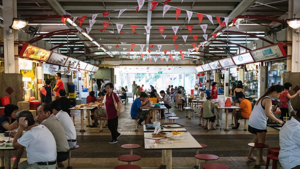 Redhill Food Centre Singapore
