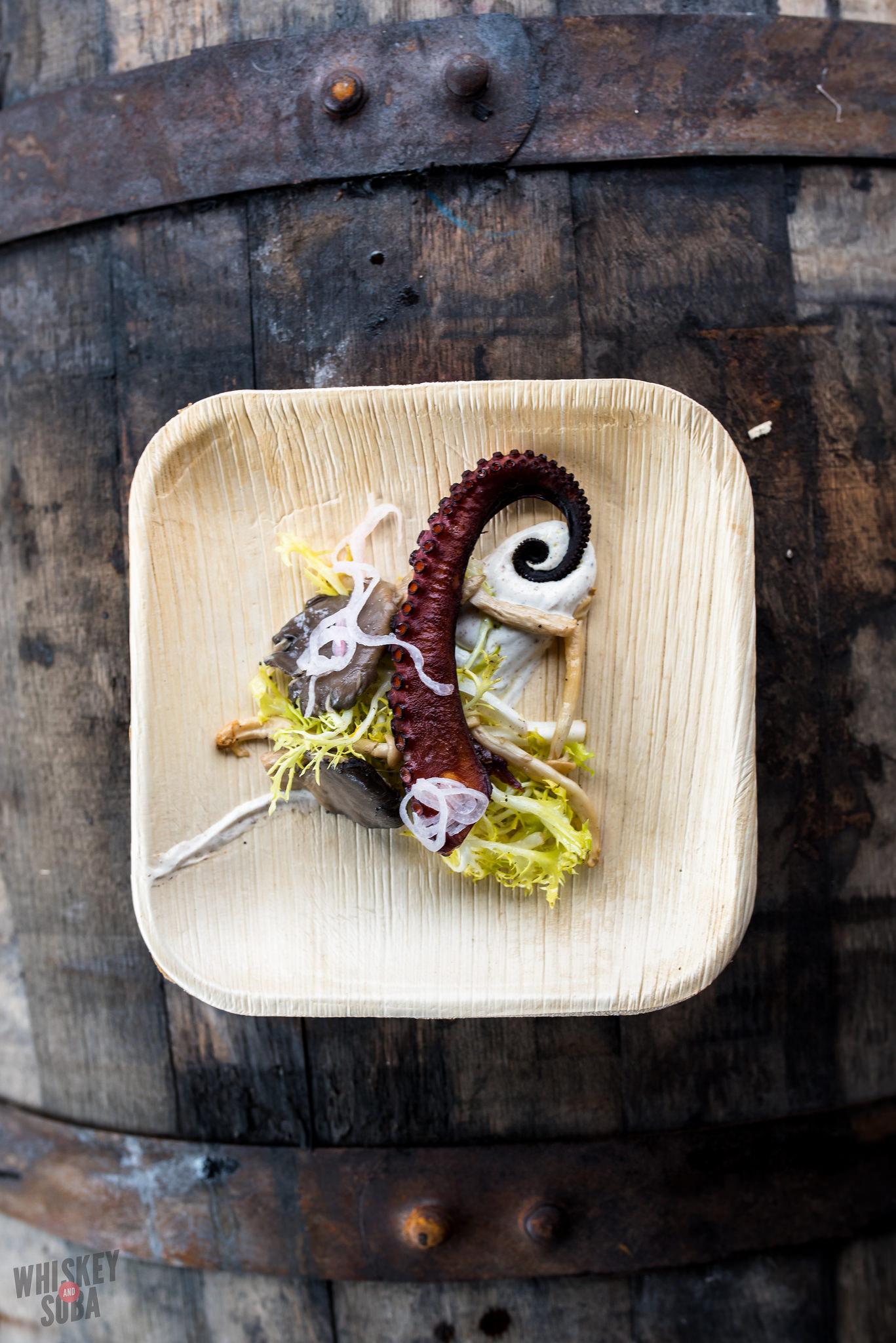 Chef Russ Bodner Octopus Dinner Lab