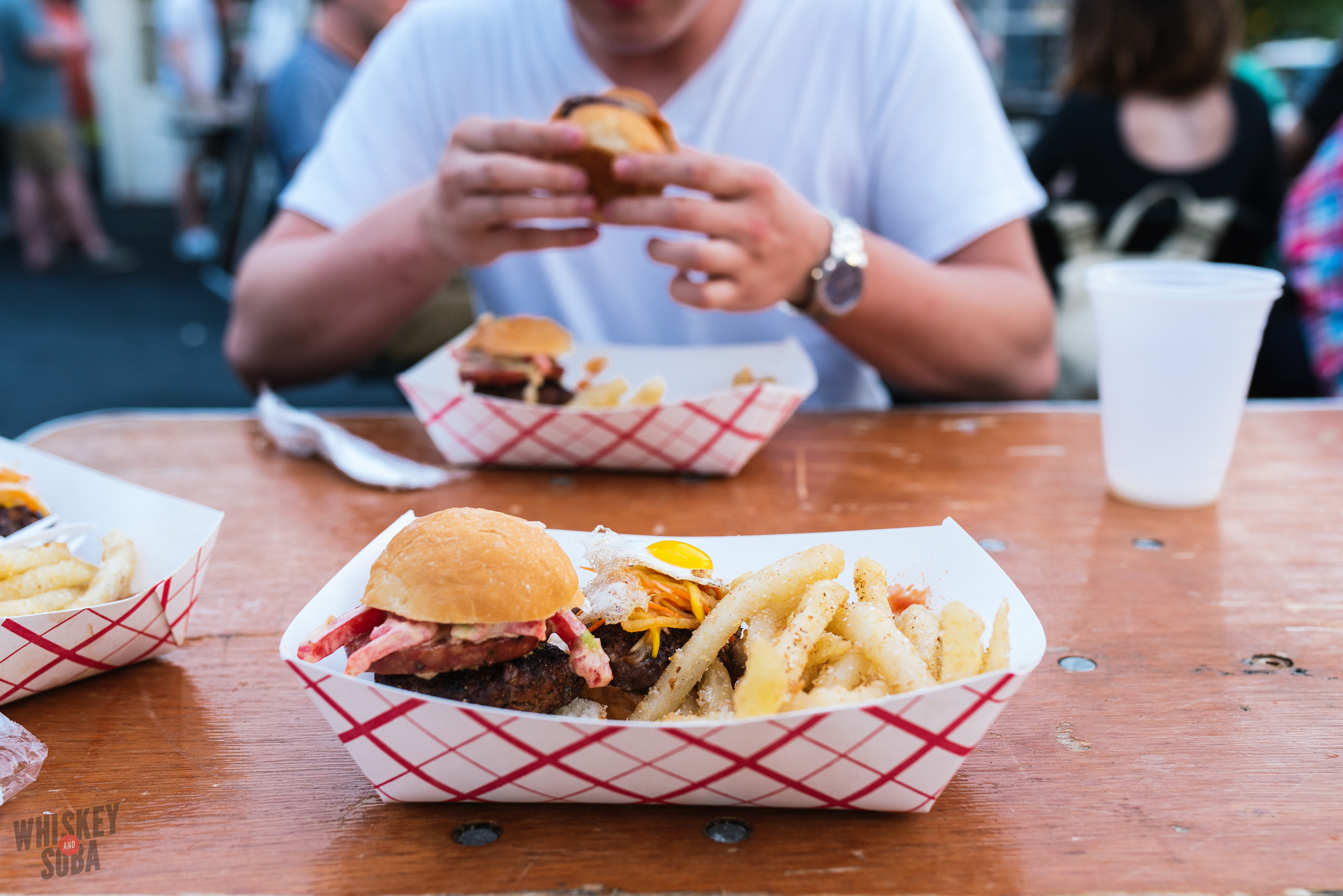 Burgers and Fries at Bolyard's Burger Battle