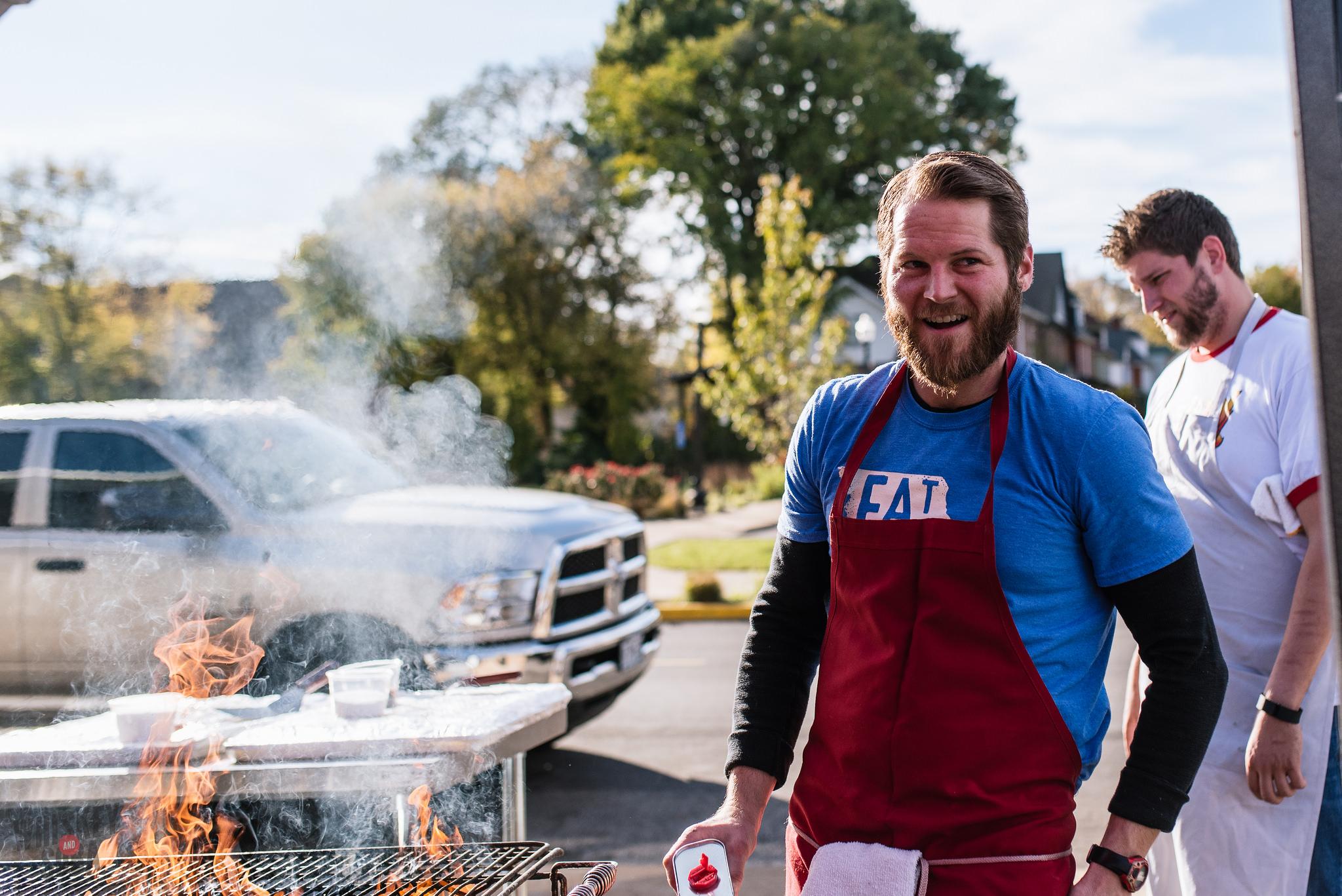 bolyard's burger battle chris fire