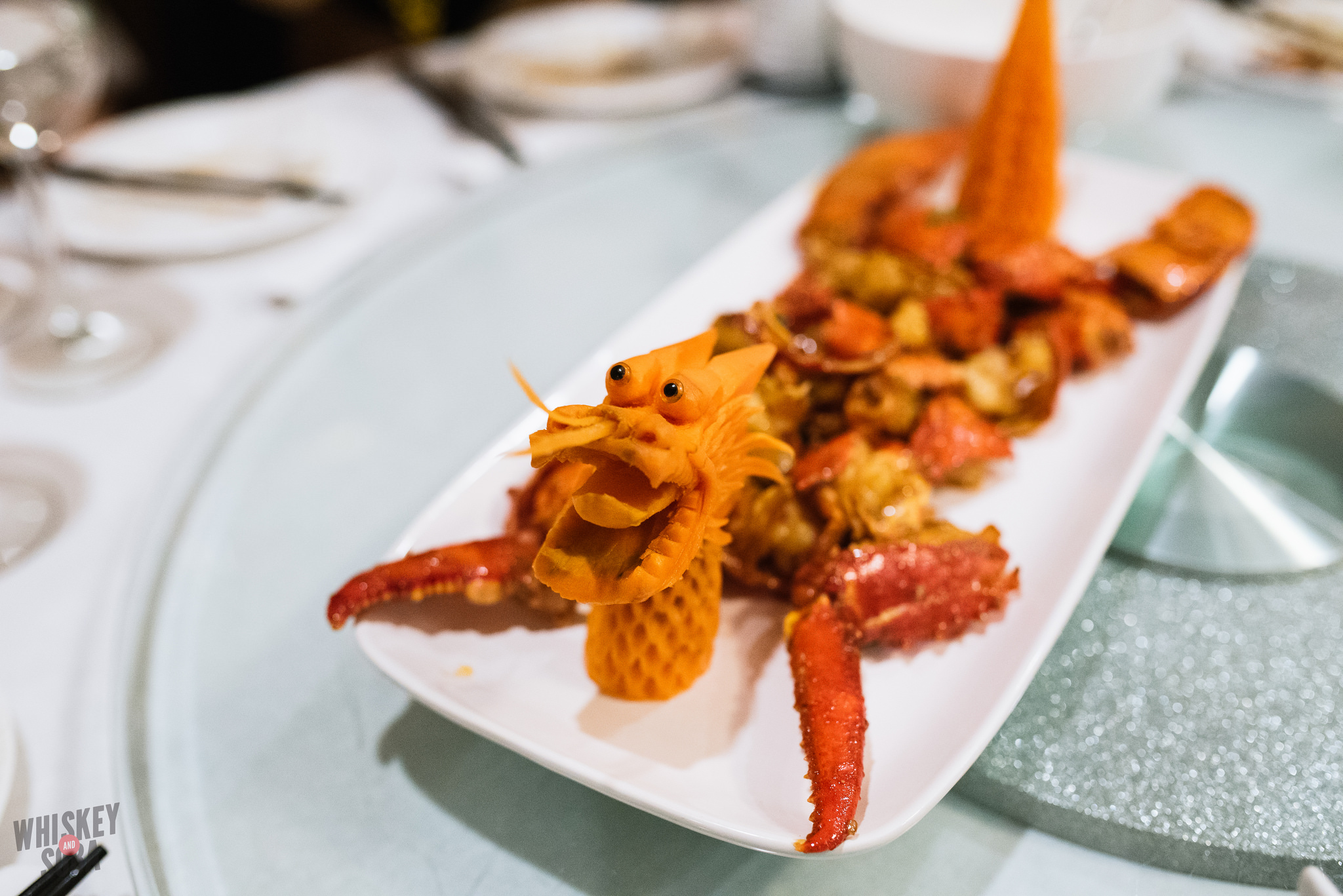private kitchen lobster dragon plate