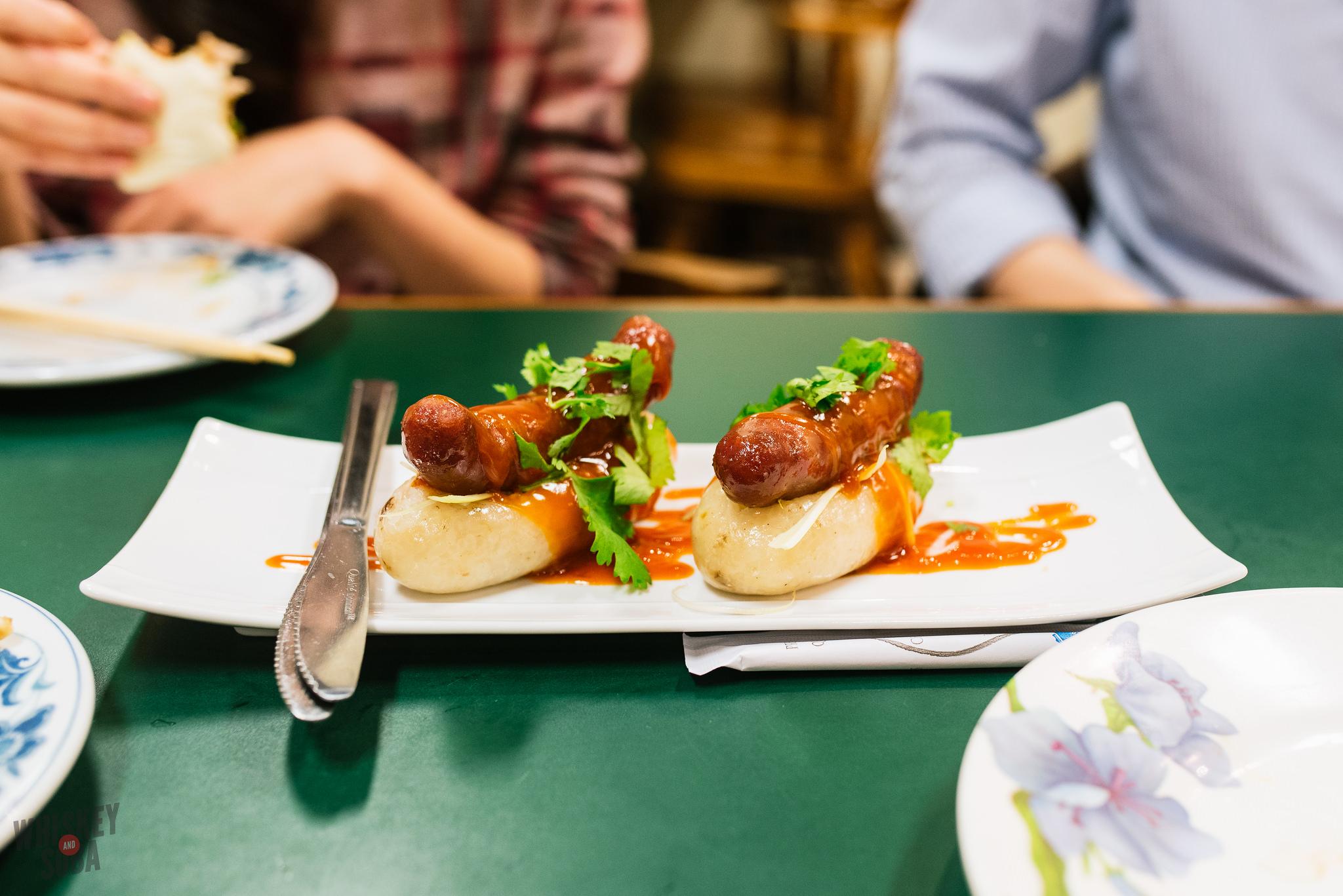 tai ke sticky rice sausage taiwanese st.louis