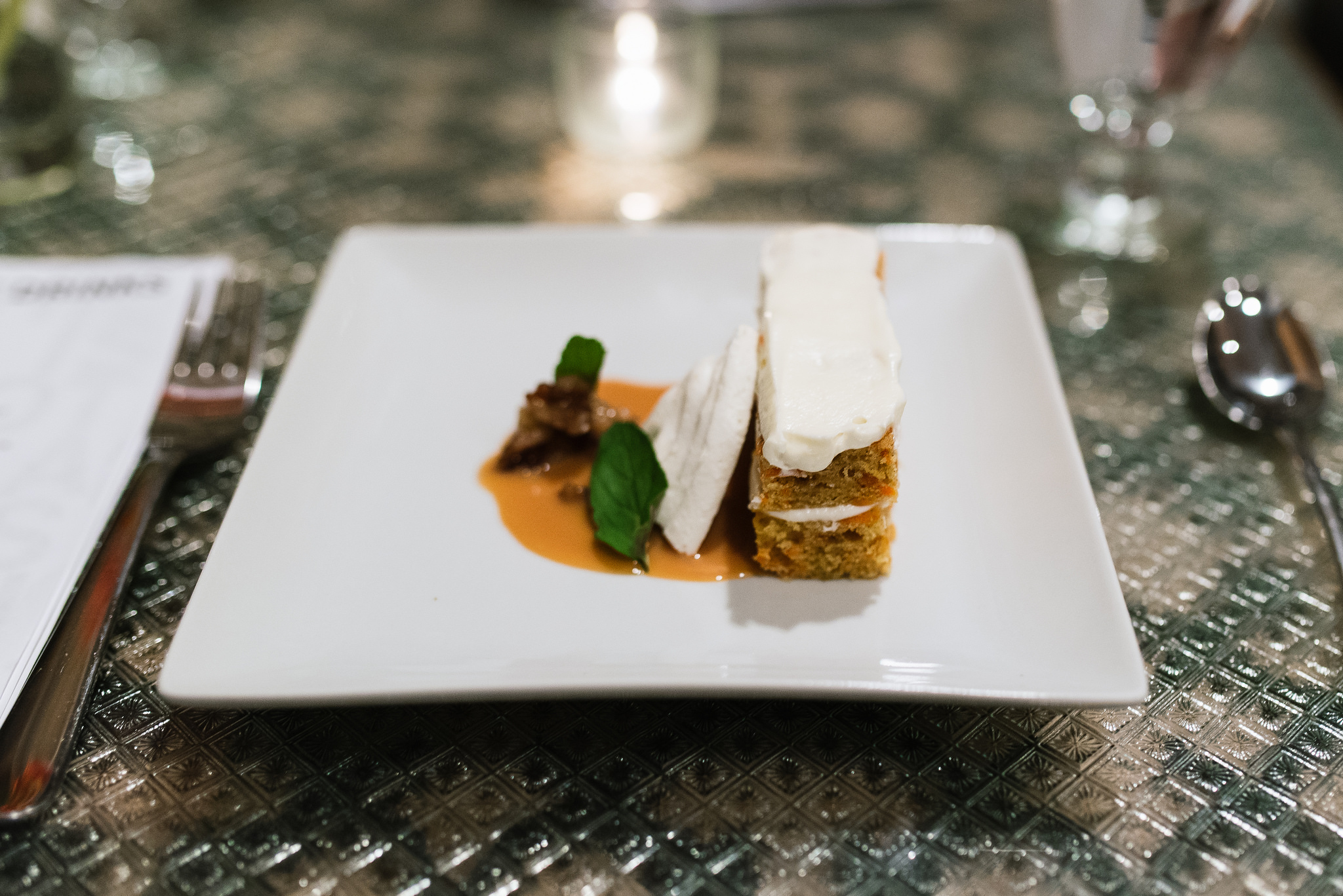 chris bolyard's carrot cake and meringue