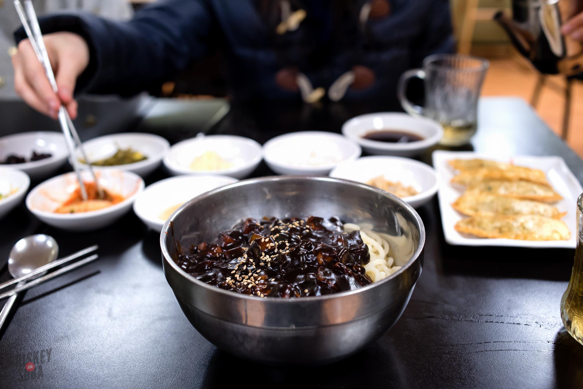 Joo Joo black bean noodles