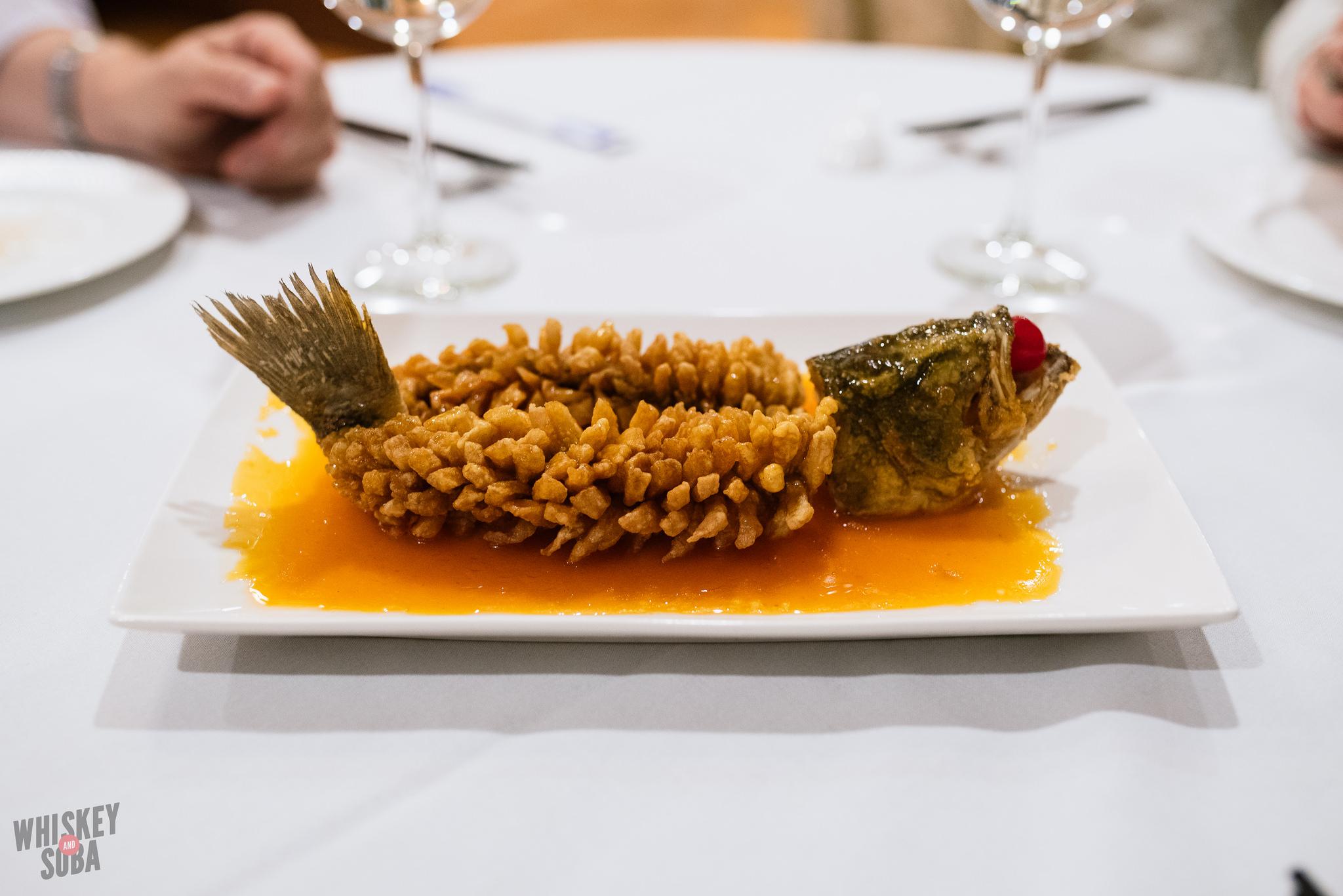Squirrel fish at Private Kitchen