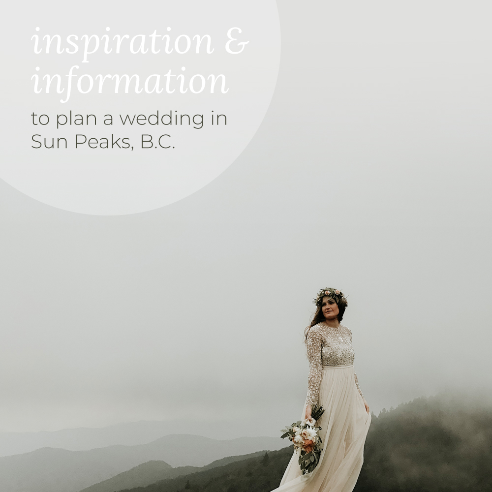 Sun Peaks Wedding Guide - The complete creation and branding for a 32 page annual print publication as well as an online presence - both social media & website design. Read online & browse the website here.