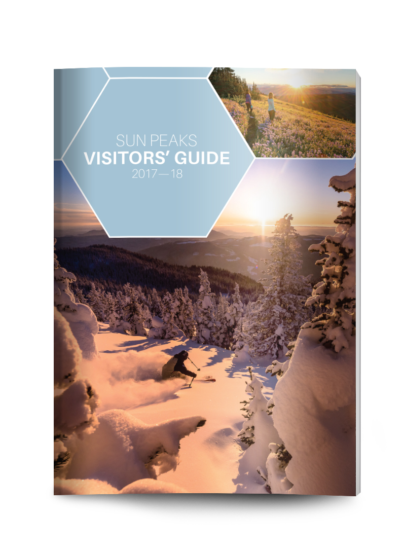 Sun Peaks Visitors' Guide - Layout design and ad design for a 60 page annual print publication - a complete guide to Sun Peaks Resort in Sun Peaks, British Columbia. Read online here.