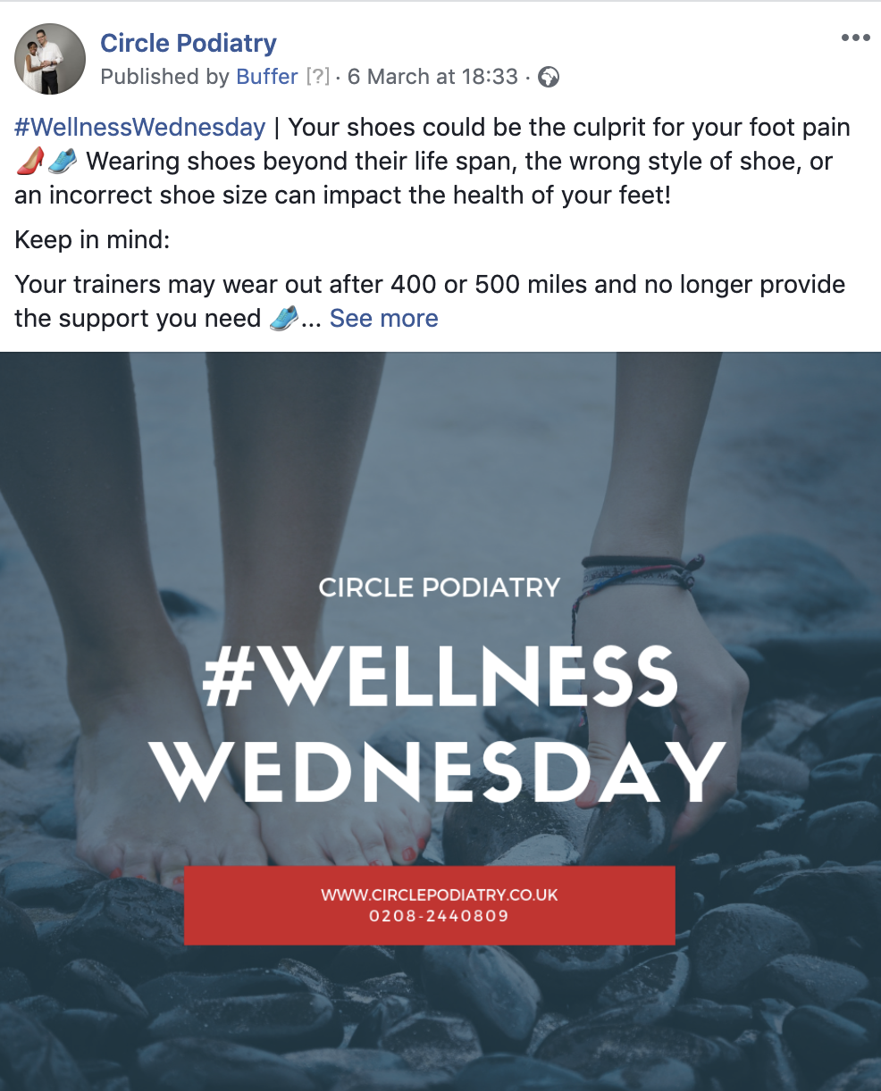 #WellnessWednesday