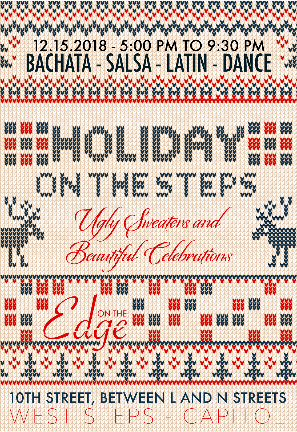 holiday on the steps - December 15, 2018
