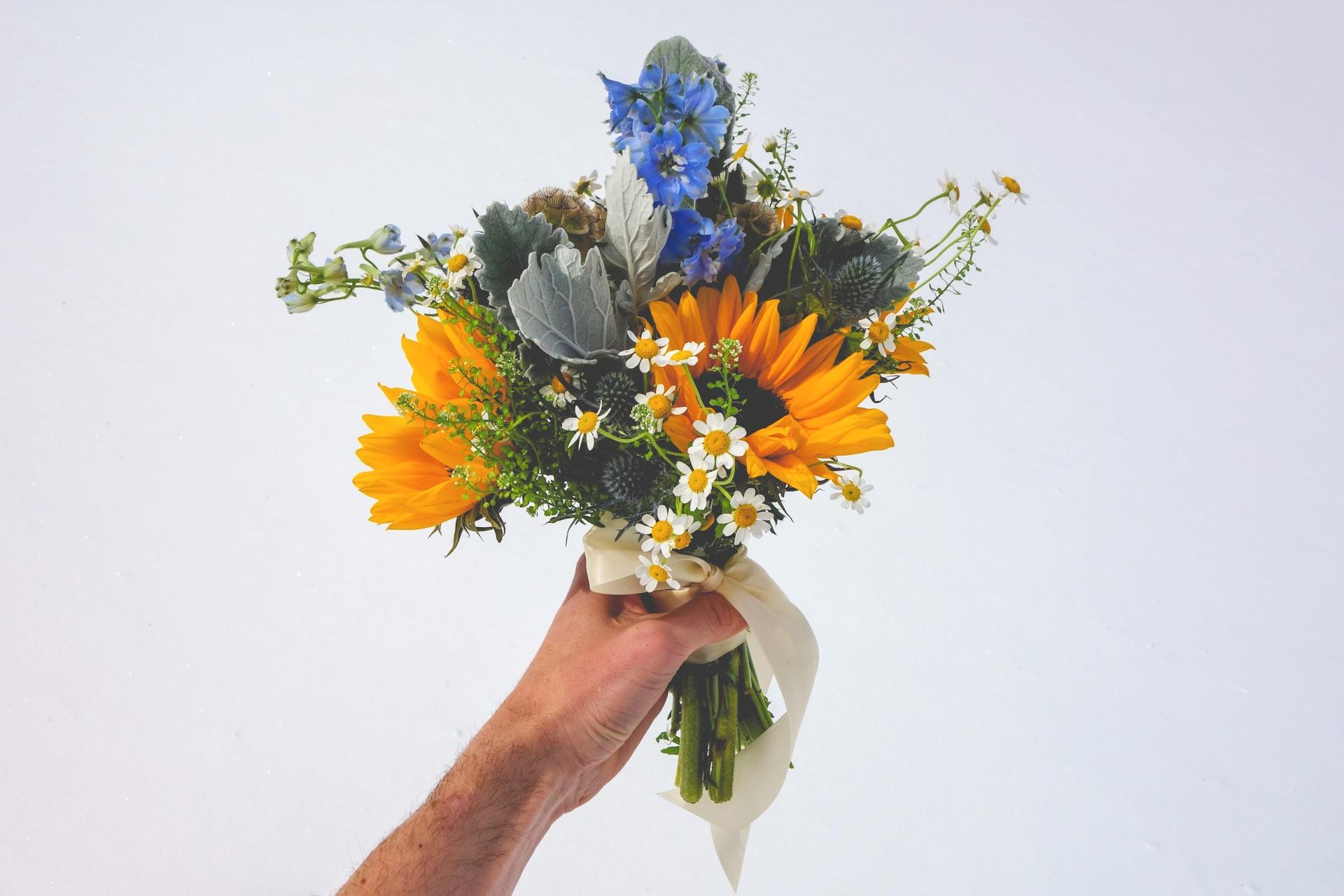 (360 design, sunflower and flower mix)