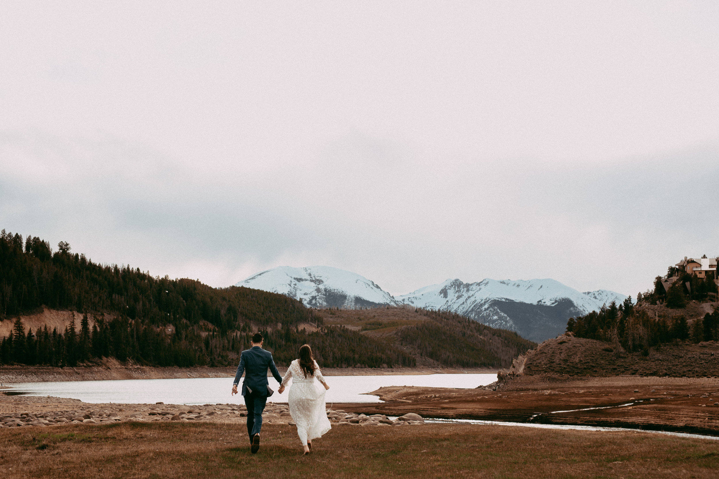"""""""Intimate"""" - $350 - Bride & groom + <20 guestsPhotography for ceremony, group/family shots, and couple's portrait session.Minimum of 70+ edited images"""