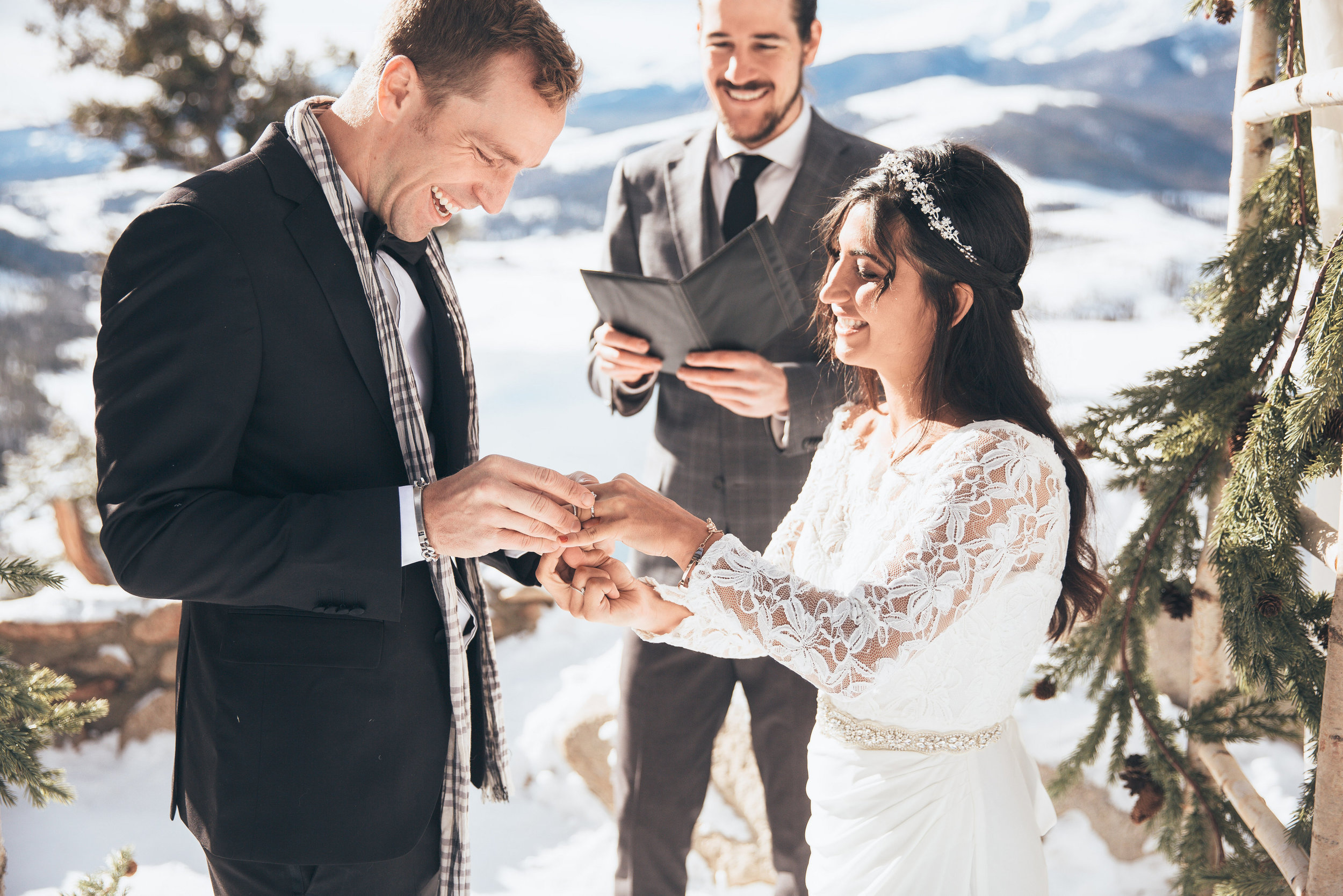 Founder - Iver Marjerison is a wedding officiant-turned-planner who's married 400+ couples in the Colorado region. He's on the front end, answering your emails/calls and planning your wedding day awesomeness.