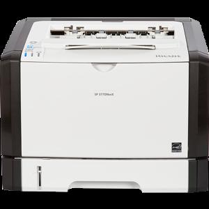 SP 377DNwX Black and White Laser Printer