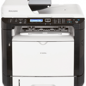 SP 325SFNw Black and White Laser Multifunction Printer