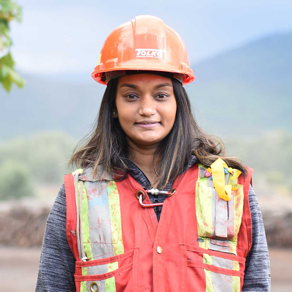 "Nadia - ""I like that I have moved across the country from Ontario to Alberta and BC, and have been able to find forestry work where ever I go."""