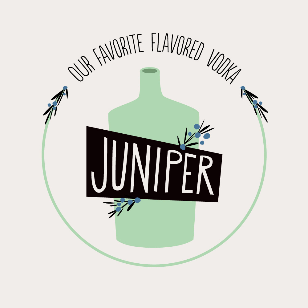 Juniper: Our Favorite Flavored Vodka