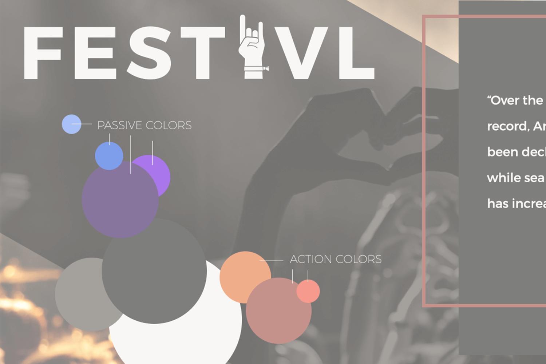 Festivl - Design Direction, Web Design, Web Development