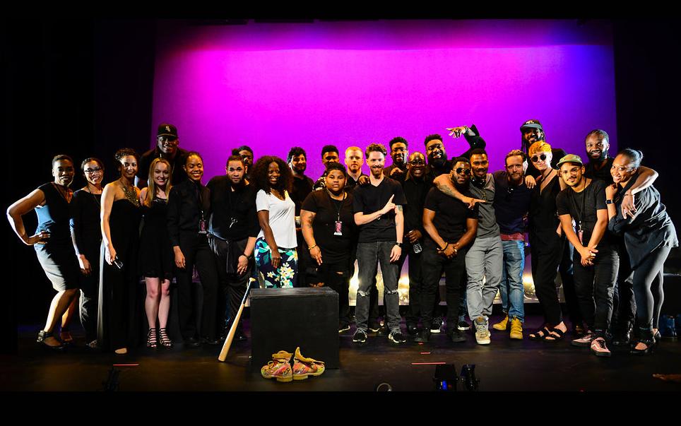 Hero: A Work in Progress with Omari Hardwick I The Billie Holiday Theatre