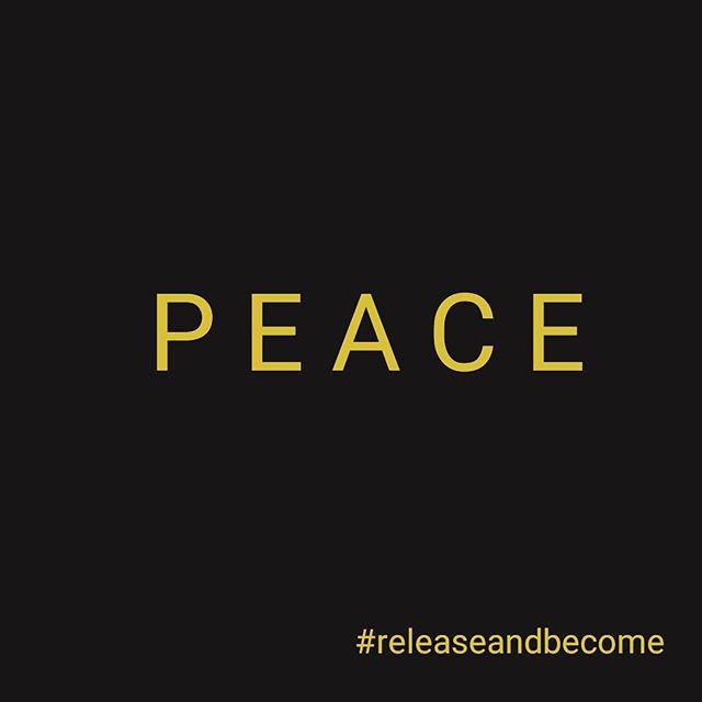 #peace . . . #releaseandbecome #911