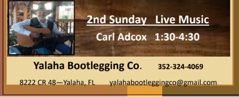 Second Sunday - Yalaha Bootlegging Co.
