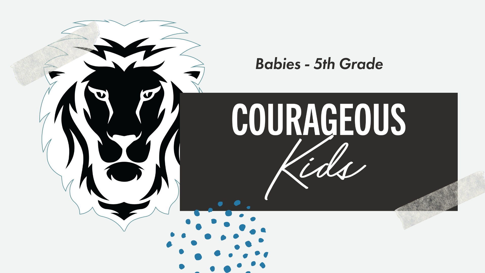 Learn About Our Kids Ministry