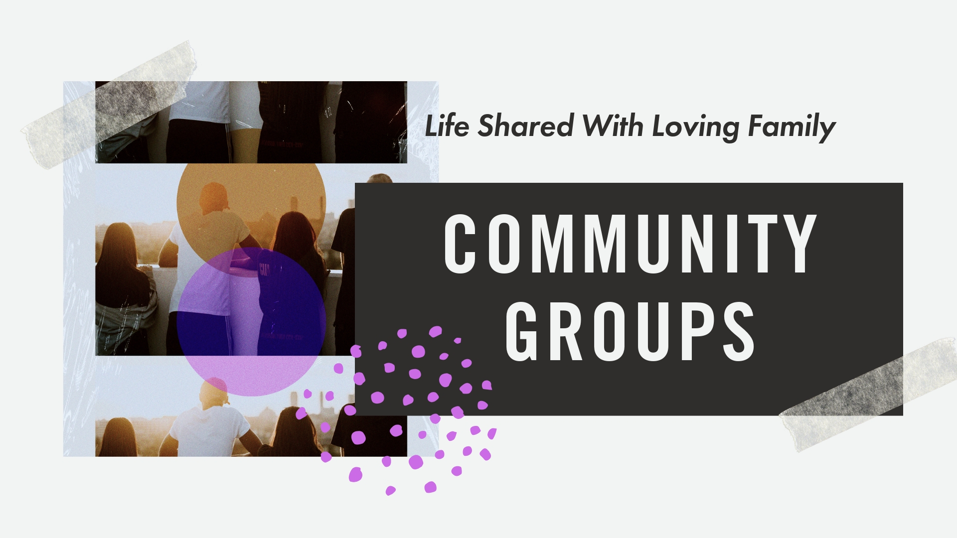Host or Join a Community Group