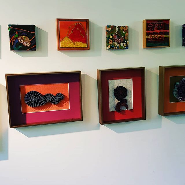 Vibrant work of Don Cole and Joan Wortis In the Gallery, Stop #9 on the Open Studios Tour. #joanwortis #doncole #vashonopenstudiostour #vashonislandvisualartists #springtourvashon #juddcreekranchgallery