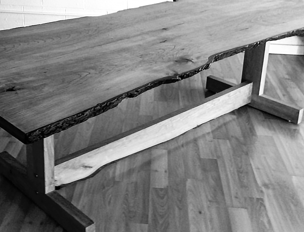Bruce Dearborn:  Live-edge furniture