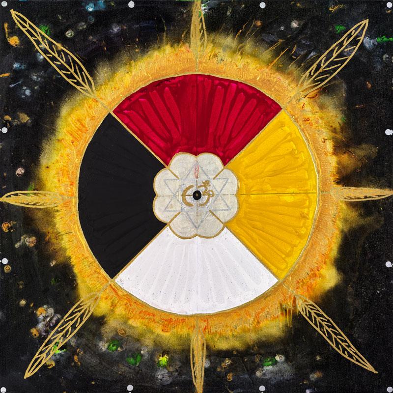Copy of Cosmic Medicine Wheel