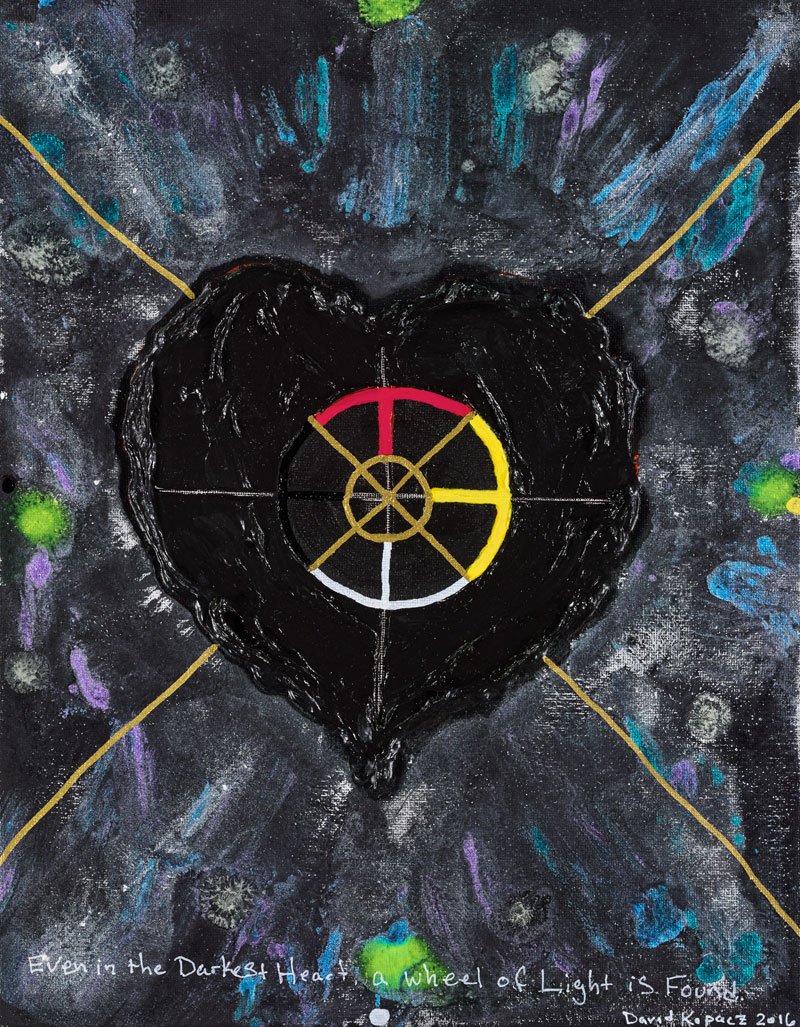 Copy of The Medicine Wheel of the Darkened Heart