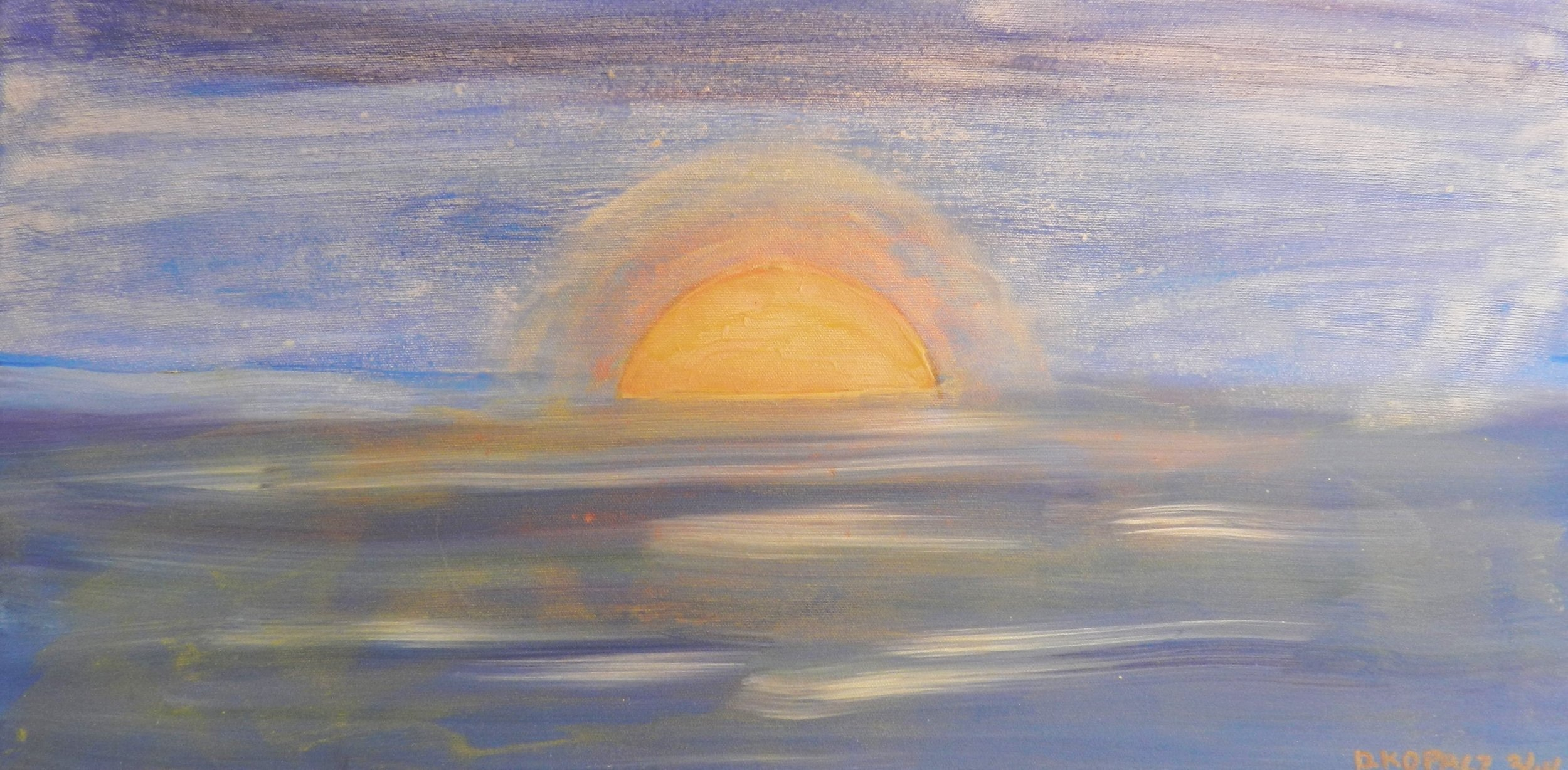 Sun Rise Memories of New Zealand