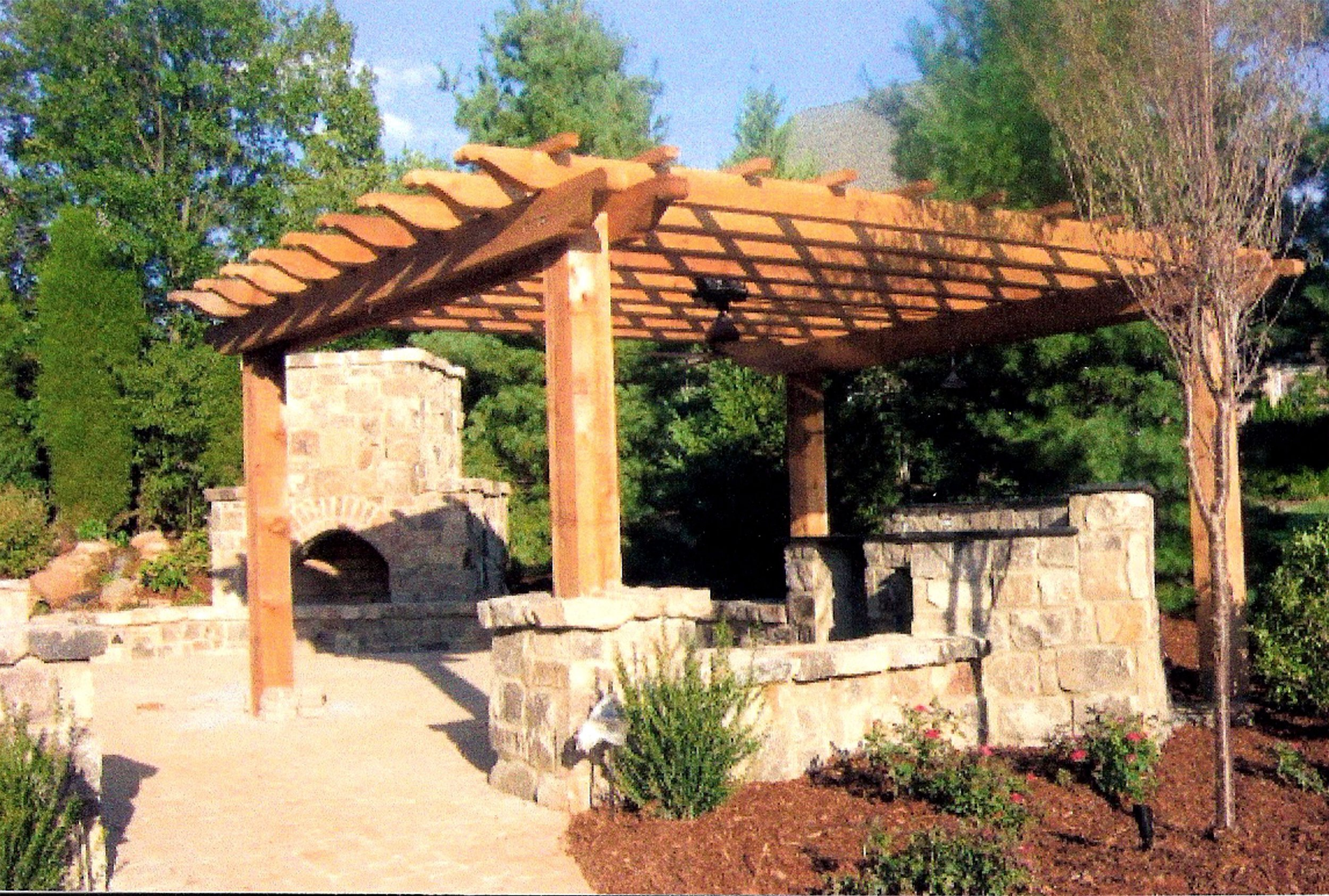 PERGOLAS AND STRUCTURES — Peola Outdoor Living & Landscape