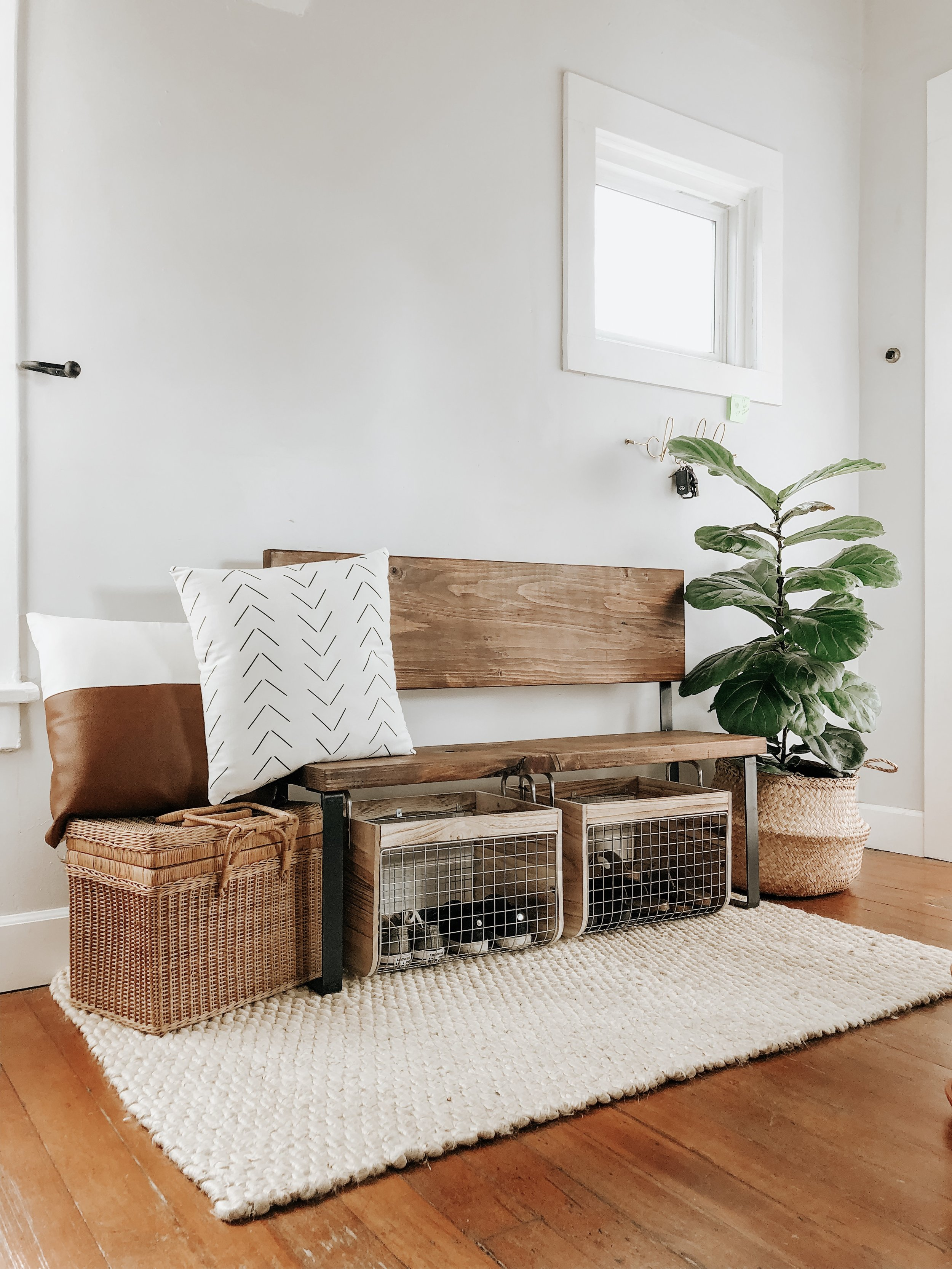 Picture of: Diy Entryway Bench From Jennifer Ann