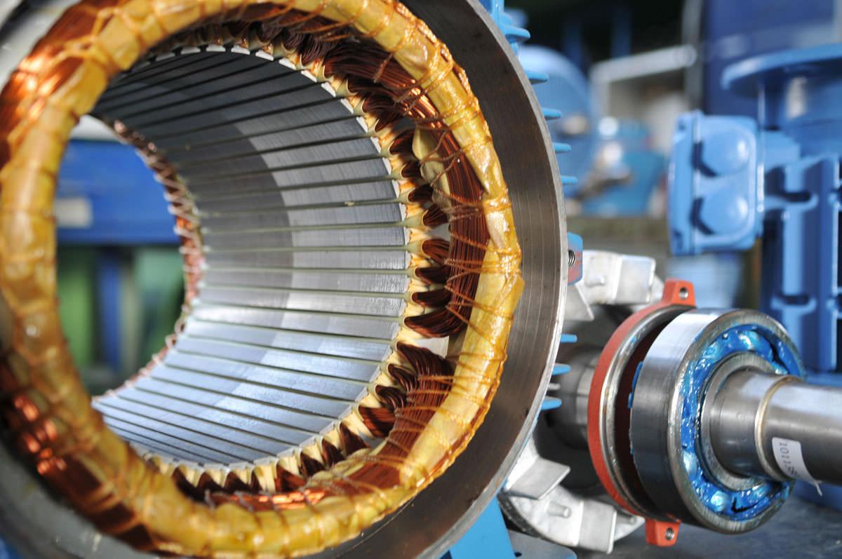 MOTORS - Test and repair single and 3 phase motors.